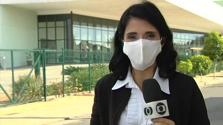 Renata Costa perdeu fôlego - Foto: Reprodução/Globo