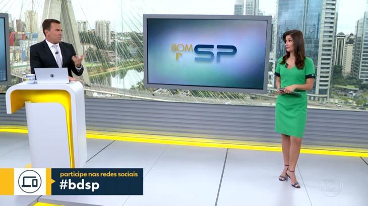 Rodrigo Bocardi e Sabina Simonato foram chamados de brega - Foto: Reprodução/Globo