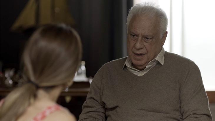 Bom Sucesso: Alberto se sente culpado e diz para Paloma: