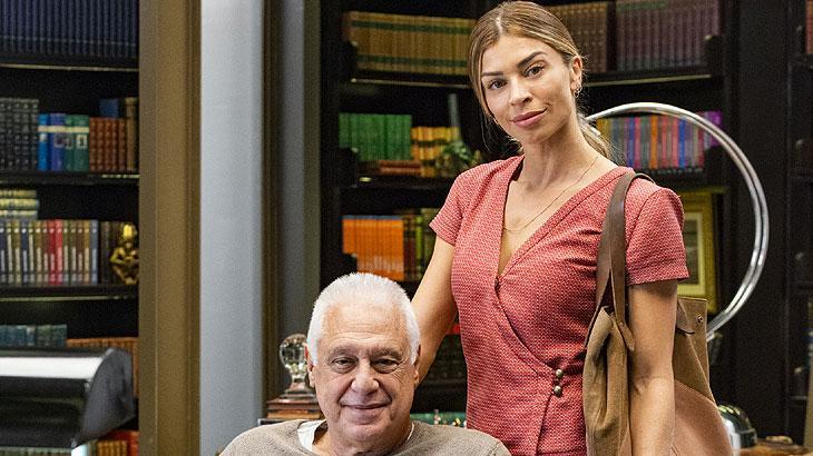 Paloma (Grazi Massafera) enfim conheceu quem foi o homem com quem teve seus exames trocados