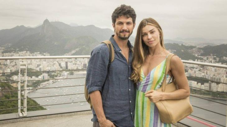 Marcos e Paloma juntos - Divulgação/TV Globo