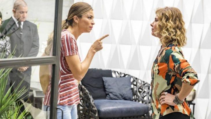 Paloma aponta o dedo para a rival e fala as verdades - Divulgação/TV Globo