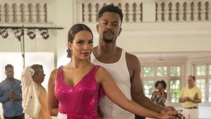 Francisca e Ramon no concurso de dança - Divulgação/TV Globo