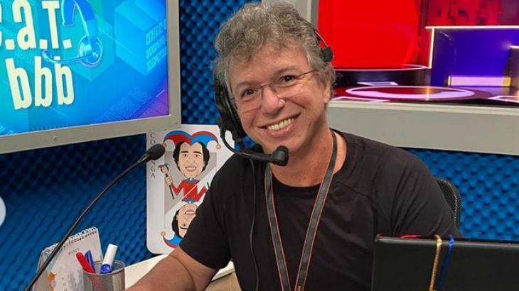 Boninho no CAT BBB, quadro do reality - Divulgação/TV Globo