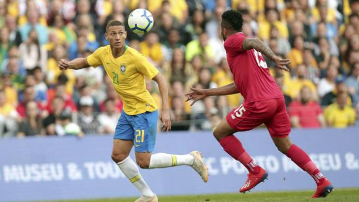 Brasil empatou em 1 a 1 com Panamá