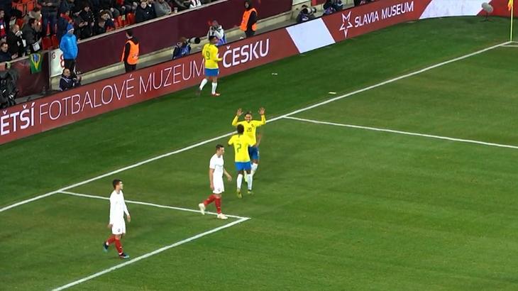 Brasil faz gol