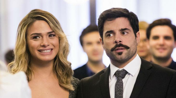 Britney e Abel se casam no final de A Dona do Pedaço - Reprodução/TV Globo