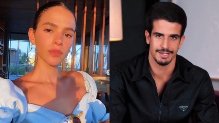 Bruna Marquezine e Enzo Celulari estão vivendo romance em segredo, diz site