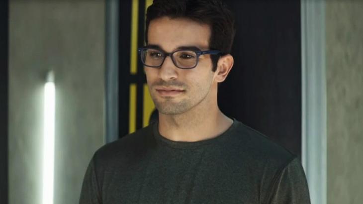 Bruno Bevan é Zé Hélio e vem fazendo sucesso em A Dona do Pedaço