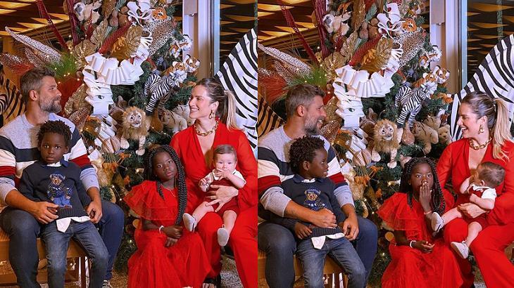 Bruno Gagliasso e sua família