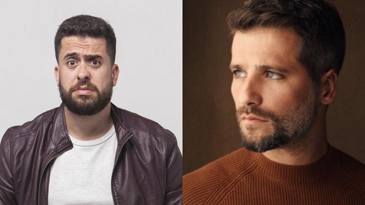 Maurício Meirelles e Bruno Gagliasso