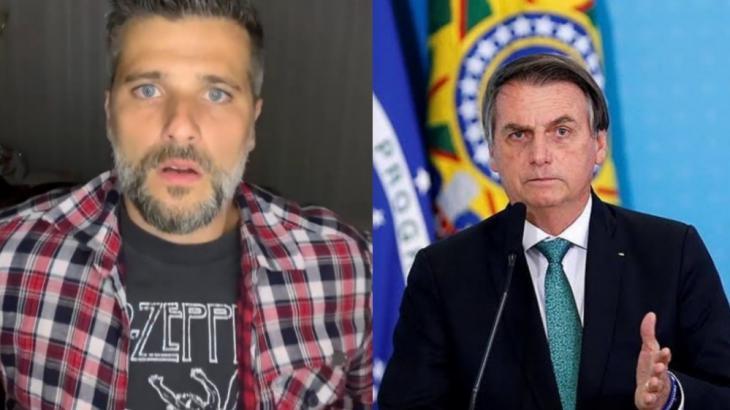 """Bruno Gagliasso endossa ação por Manaus e garante a Bolsonaro: """"Vai cair"""""""