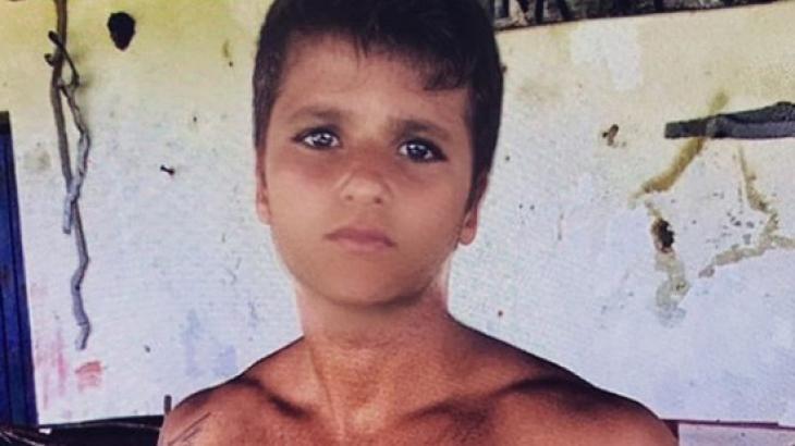 Bruno Gagliasso, em foto feita por aplicativo que deixa o rosto mais jovem - Foto: Reprodução