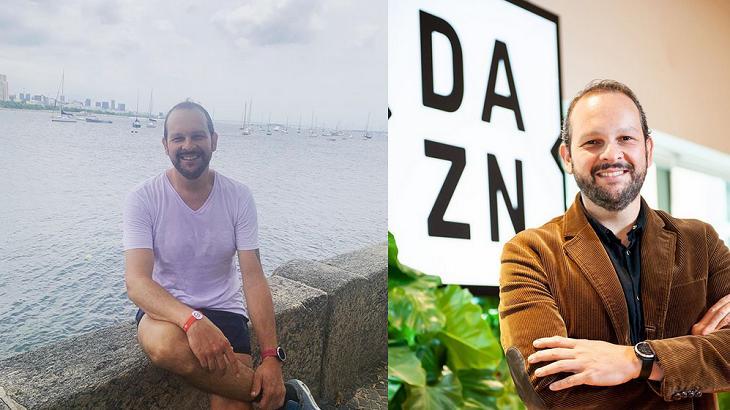 Amigos e colegas de trabalho lamentaram a morte de Cadu Cortez, da DAZN - Foto: Montagem