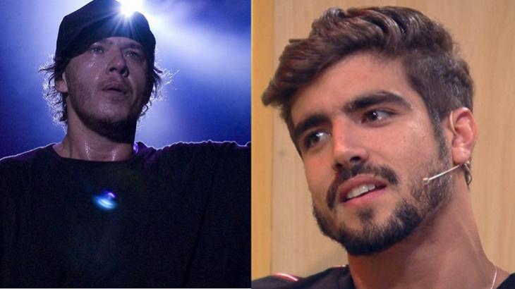 Caio Castro fará live para relembrar músicas de Chorão - Foto: Montagem