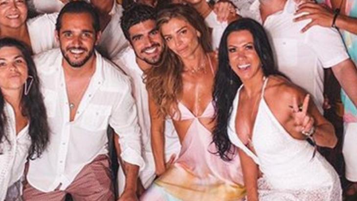 Caio Castro está atualmente com Grazi Massafera, mas já fez sucesso entre as mulheres famosos. Foto: Divulgação