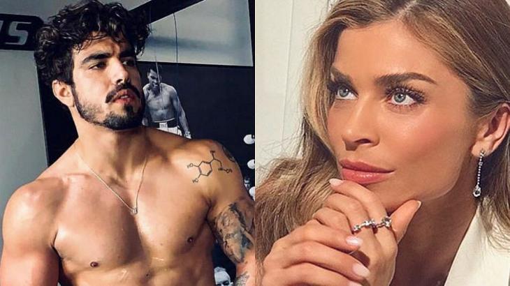 Grazi Massafera e Caio Castro podem estar namorando - Foto: Montagem
