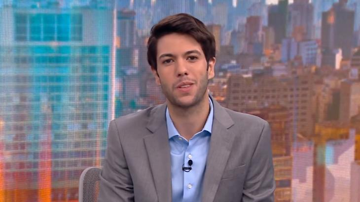 Caio Coppolla na CNN Brasil - Foto: Reprodução