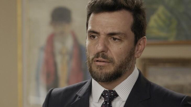 O ator Rodrigo Lombardi, o Caio em A Força do Querer / Divulgação / TV Globo