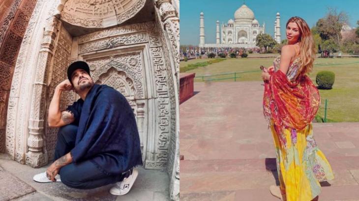 Caio Castro e Grazi Massafera já estiveram na África do Sul e, agora, curtem a Índia - Instagram/Reprodução