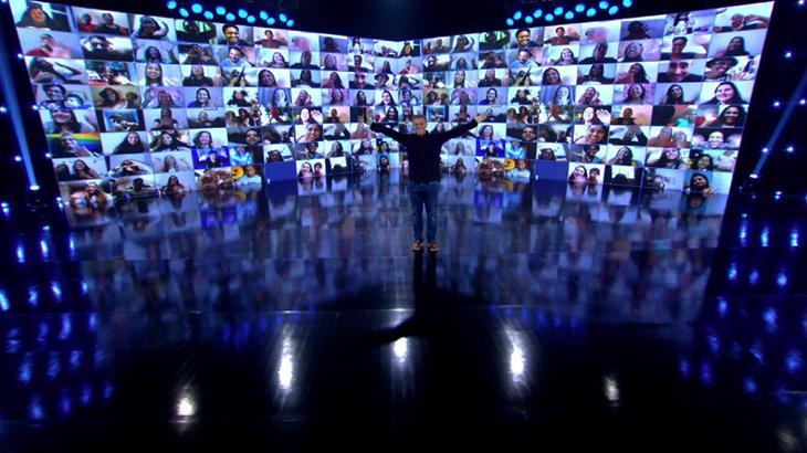Globo volta a gravar Caldeirão do Huck em estúdio durante pandemia