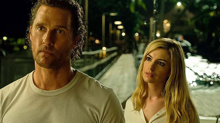 Calmaria é estrelado por Matthew McConaughey e Anne Hathaway