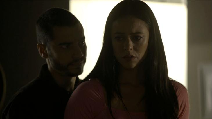 Lee Taylor e Paolla Oliveira