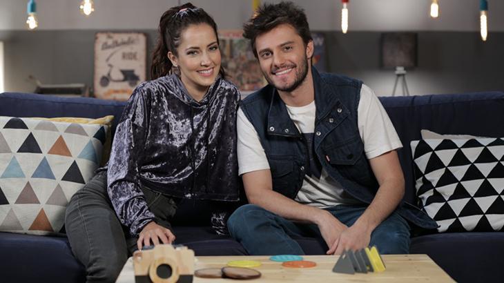 Maytê Piragibe e Hugo Bonemer apresenta os programas do Canal Like - Divulgação