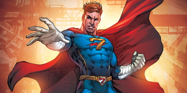 Herói da RecordTV, Capitão 7 ganha nova versão nos quadrinhos; confira