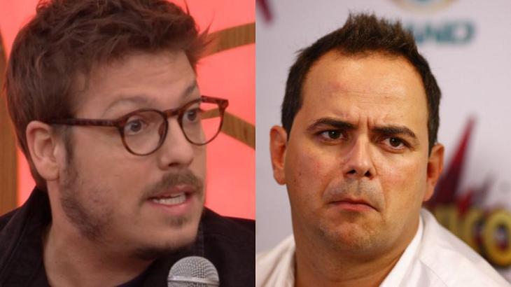 Fábio Porchat e Carioca bateram boca nas redes sociais - Foto: Montagem