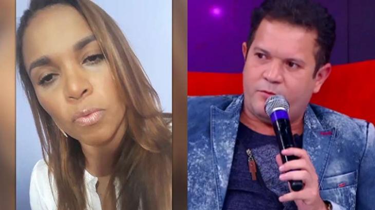 Ximbinha explica acusações feitas por cantora em programa de TV - Reprodução