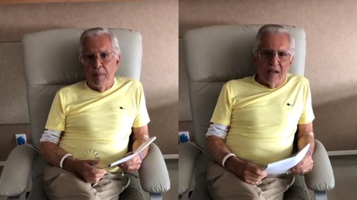 Carlos Alberto de Nóbrega corrige seu estado de saúde e revela infecção na próstata