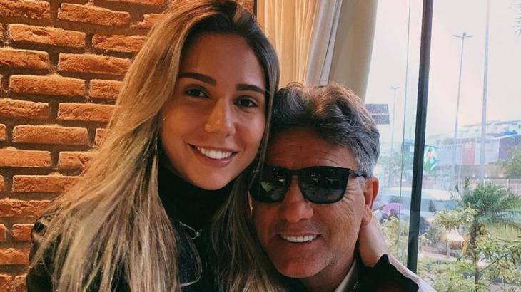 Carol Portaluppi e Renato Gaúcho