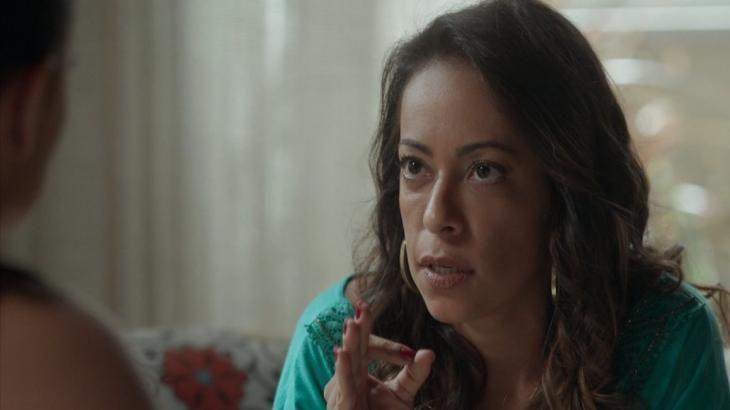 Dorinha faz chantagem com a irmã em Totalmente Demais - Reprodução/TV Globo