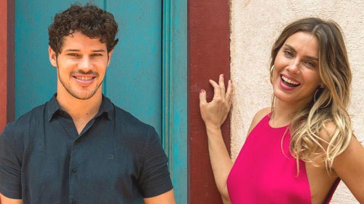 José Loreto e Carolina Dieckmann: atriz esclareceu polêmica com ex do galã - Foto: Reprodução