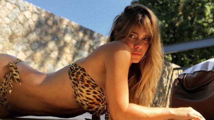 Carolina Dieckmann posa de onça - Foto: Reprodução