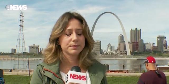 Correspondente da Globo News solta palavrão durante link nos Estados Unidos