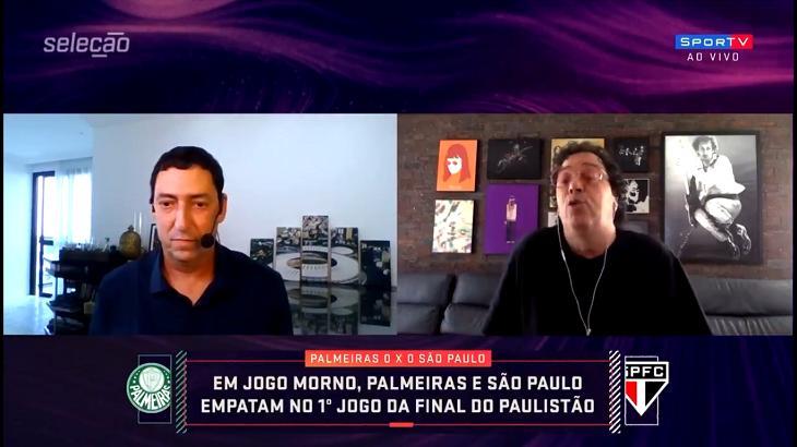 PVC e Casagrande discutiram no Seleção SporTV