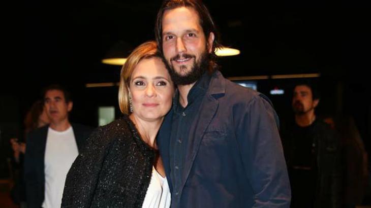 Marido e mulher, Vladimir Brichta e Adriana Esteves contracenarão juntos em novela