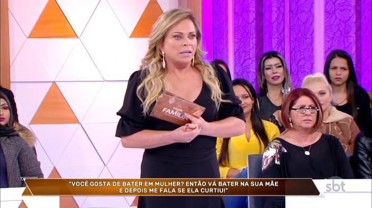 Christina Rocha no Casos de Família - Reprodução/SBT
