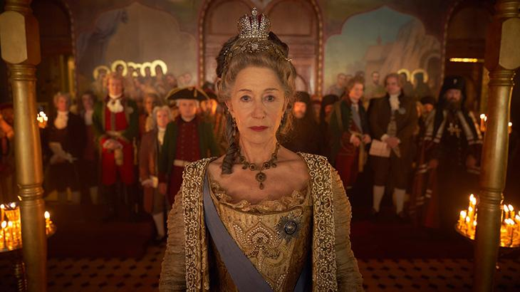 Helen Mirren é Catherine The Great