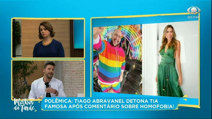 Cátia Fonseca falou sobre Patrícia Abravanel