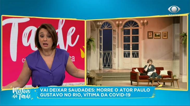 Cátia Fonseca desabafa sobre a morte de Paulo Gustavo