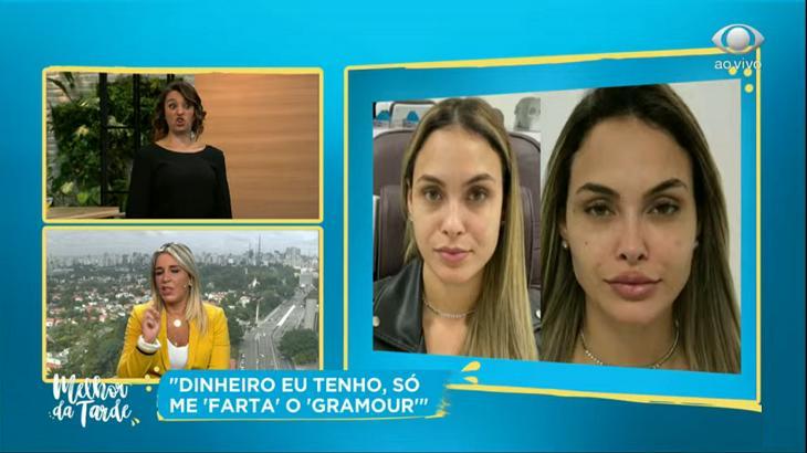 Cátia Fonseca no Melhor da Tarde falando sobre Sarah Andrade