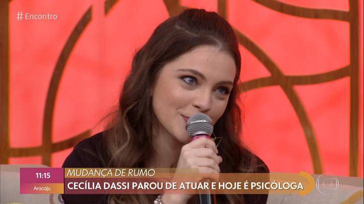 Cecília Dassi participou do