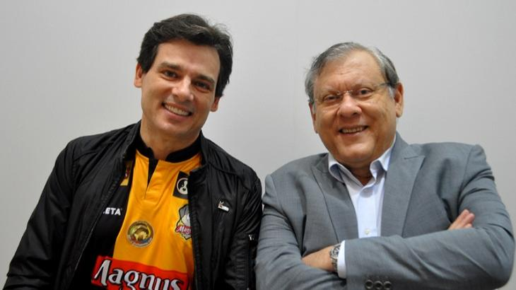 Celso Portiolli assume voto em Milton Neves e jornalista responde: