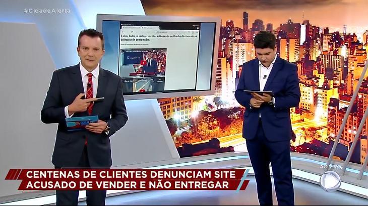 Celso Russomanno sofre ofensa ao vivo no Cidade Alerta: