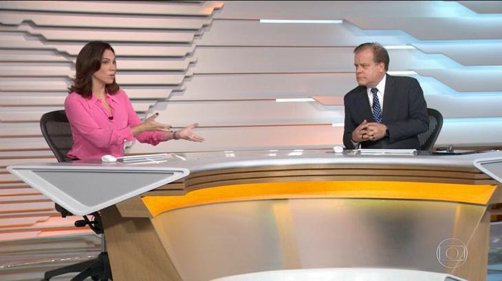 Chico Pinheiro e Ana Paula Araújo no