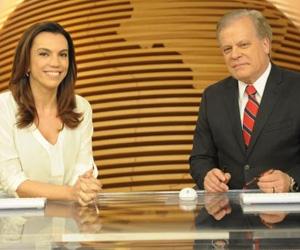 Ana Paula Araújo divide diariamente a bancada do