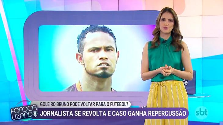 Chris Flores comenta caso de goleiro Bruno: